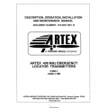 Artex 406 MHz Emergency Locator Transmitters Operation, Installation and Maintence Manual $19.95