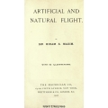 Artificial and Natural Flight with 95 Illustrations $4.95