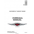 Continental C75,C85,C90,O-200 Overhaul Manual v2011 X30010  $29.95