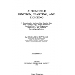 Automobile Ignition, Starting and Lighting Manual and Many Wiring Diagrams $4.95