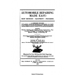 Automobile Repairing Made Easy, Shop Methods- Equipment- Processes $4.95