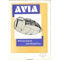 Avia 34, 35, 51, 53, 56, 57 & 122 Monocoque Construction Manual $4.95