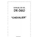 Avion Robin DR-360 Chevalier Manuel de Vol $4.95