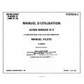 Avion Mirage IIIE UCB103-01-2 Manuel d'Utilisation $6.95