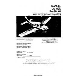 Avion Piper Cherokee Warrior II PA-28-161 Manual de Vol 1978 $9.95