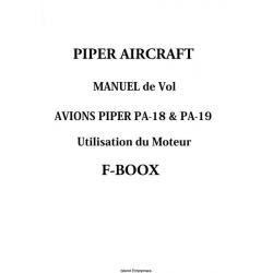 Avions Piper PA-18 & PA-19 Manuel de Vol 1949 - 1960 $5.95