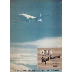 Avro C-102 Jetliner CF-EJD-X Flight Manual/POH