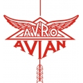 Avro Avian Aircraft Logo,Decal/Stickers!