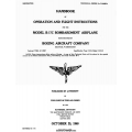B-17C Bombardment Airplane Handbook of Operation & Flight Instructions $5.95
