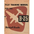 B-25 Mitchell Bomber Pilot Training Manual $9.95