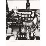 MARTIN B-26 MARAUDER BOMBER INSTRUMENT PANEL