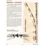 MARTIN B-26  PILOT TRAINING FLIGHT MANUAL NORMAL LANDING