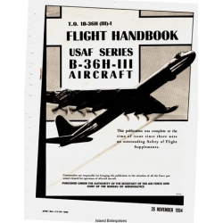 Convair B-36H-III USAF Series Aircraft Flight Handbook 1954