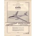 Boeing B-47A Stratojet Aircraft Usaf Series AN 01-20ENA-1 Handbook Flight Operating Instructions 1950 $10.95