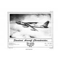 Boeing B-47A Stratojet Standard Aircraft Characteristics 1951 $2.95