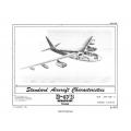Boeing B-47B Stratojet Standard Aircraft Characteristics 1951 $2.95