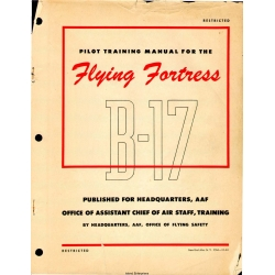 Boeing B-17 Pilot Training Manual