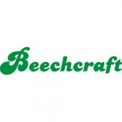 Beechcraft Aircraft Logo Vinyl Graphics Decal