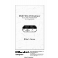 B.F Goodrich DME/TACAN Indicator IN602, IN602MD, IN605, ID-2472 & ID-2502 Pilot's Guide 1993 - 1998 $9.95