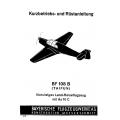Messerschmitt Bf 108 B (Taifun) Kurzbetriebs-und Rüstanleitung
