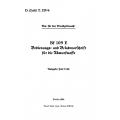 Messerschmitt Bf 109 E Bedienungs und Beladevorschrift für die Ubwurwaffe