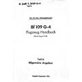 Messerschmitt BF 109 G-4 Flugzeug-Handbuch