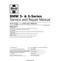 BMW 3 and 5 Series Service and Repair Manual 1997 $4.95