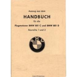 BMW 810C und BMW 801D Handbuch fur die Flugmotoren