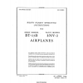 Vultee BT-13B and SNV-2 Airplanes Pilot's Flight Operating Instructions $4.95