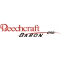 Beechcraft Baron G58 Aircraft Logo,Decals!