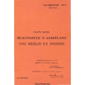 Beaufighter II Aeroplane Two Merlin XX Engines Pilot's Notes $4.95