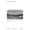 Beech 95 Pilot Information Manual 2005 - 2010