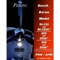 Beech Baron 95-C55, 95-C55A, D55, E55A, E55 Pilot's Operating Handbook 1983 - 1994