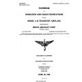 Beech C-45 Transport Airplane Handbook of Operation & Flight Instructions $5.95