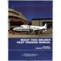 Beechcraft 1900 Airliner BE1900-FS Pilot Training Manual 2000 $13.95