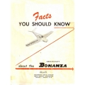 Beechcraft Bonanza Facts You Should Know Operation Manual $5.95