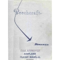 Beechcraft Bonanza/Denobair Series Landplanes P/N: 35-590118-15 Flight Manual/POH 1972 $9.95