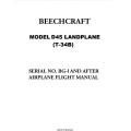 Beechcraft D45 Landplane (T-34B) Airplane Flight Manual/POH $4.95