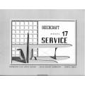 Beechcraft Model 17 Service and Operation Data