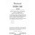 Beechcraft Sierra 200 B24R Pilot's Operating Handbook & Flight Manual 1980 - 1990