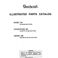 Beechcraft B19 Sport 150, C23 Sundowner 180, C24R Sierra 200 Parts Catalog Rev.1998