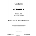 Beechcraft Starship 1 2000 NC-4 and After Structural Repair Manual 1989 - 1994 $19.95