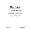 Beechcraft Twin Bonanza J50 (JH-150 THRU JH-176 Illustrated Parts Catalog Rev.1984 50-590041-11A3 $19.95