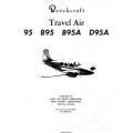 Beechcraft Travel Air 95, B95, B95A, D95A Parts Catalog 95-590018B $29.95
