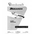 Beechcraft Bonanza 35 through G35 Parts Catalog
