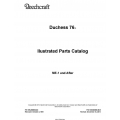 Beechcraft  Duchess 76 Ilustrated Parts Catalog 105-590000-9C5 $29.95