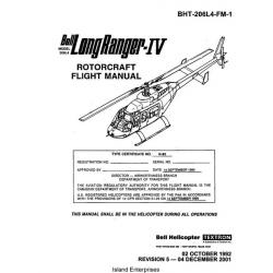 Bell 206L4 Long Ranger-IV Rotorcraft Flight Manual/POH 1992 - 2001 $9.95