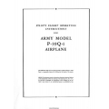 Bell Aircobra P-39Q-1 Airplane Pilot's Flight Operating Instructions $4.95