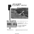 Bell Helicopter Model 47G Flight Manual/POH 1954 - 1958