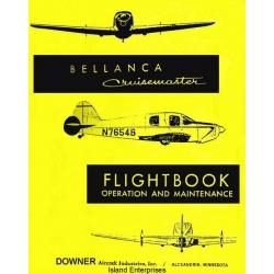 Bellanca Cruisemaster Flight Book Operation & Maintenance $6.95